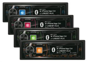 купить CDMP3-проигрыватель Alpine CDE-178BT в Симферополе